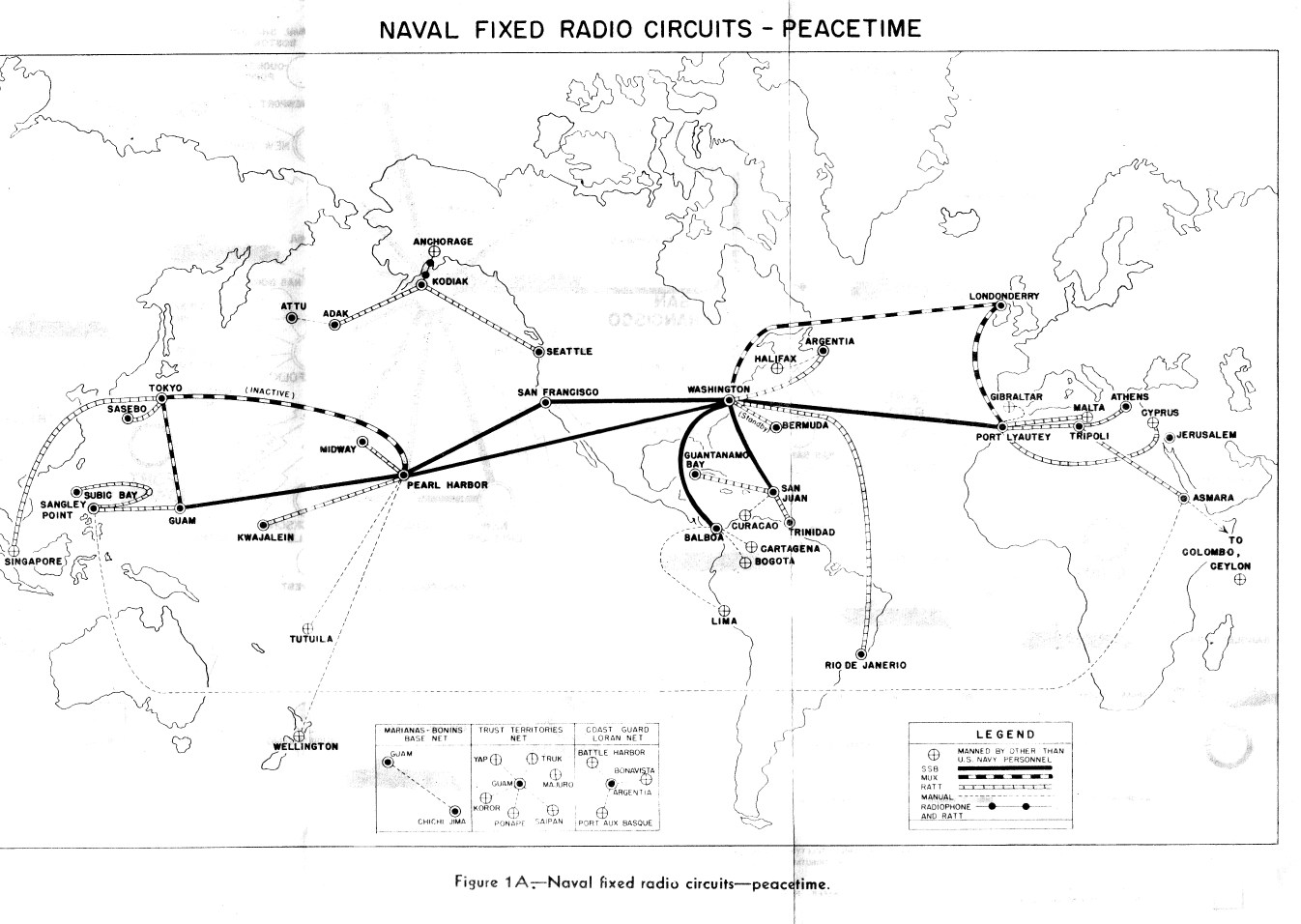 Navy Radio Circuits, Traffic Handling, and Messages