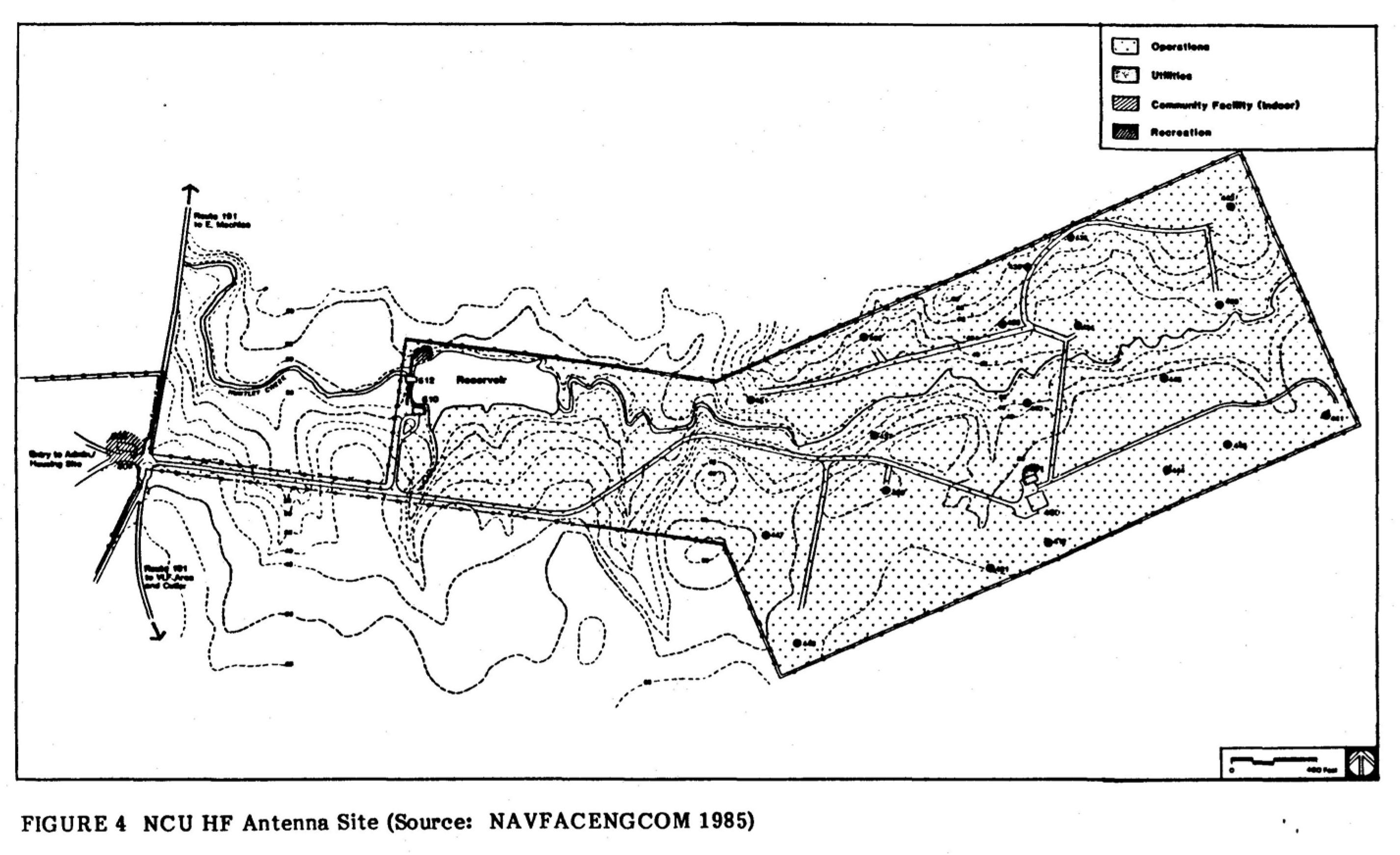 NAA Cutler Maine - Navy VLF Transmitter Site