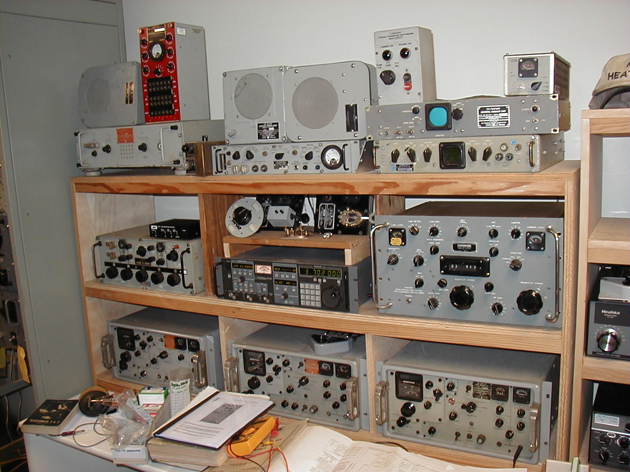 k4nyw navy radio shack
