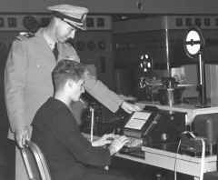 Navy Automated Morse Code (CW) Equipment