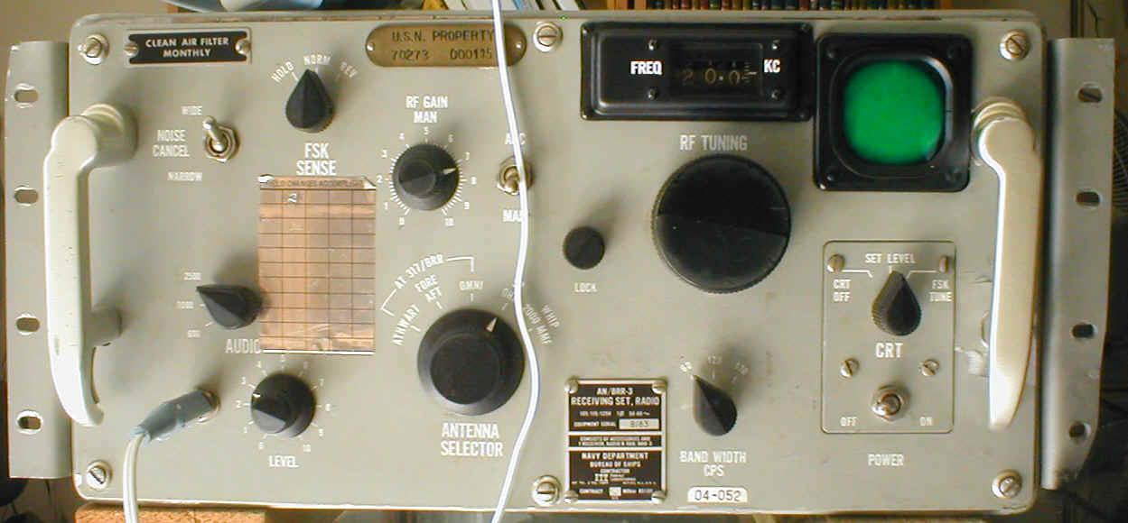 US Navy LF & VLF Receivers - 1950's