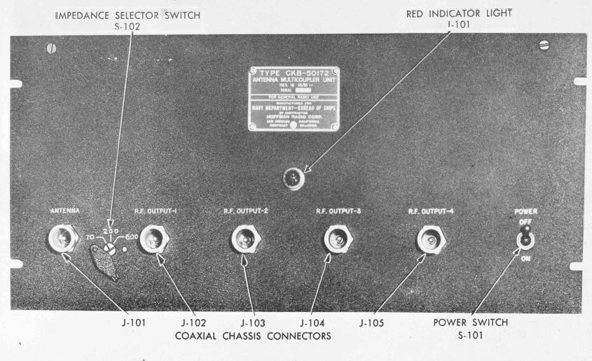 Navy Receiving Antenna Multicouplers
