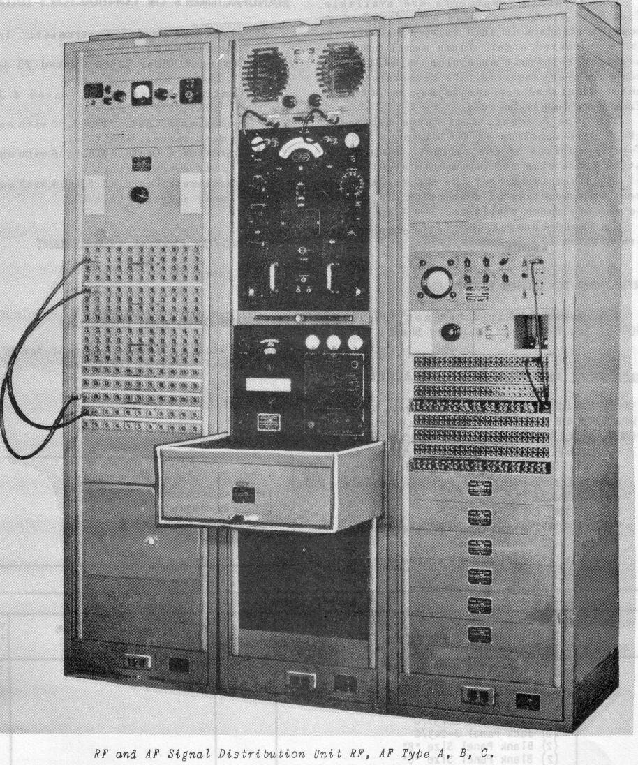 Navy Receiving Rf Patch Panels Switches Wiring Diagram Panel Synchron
