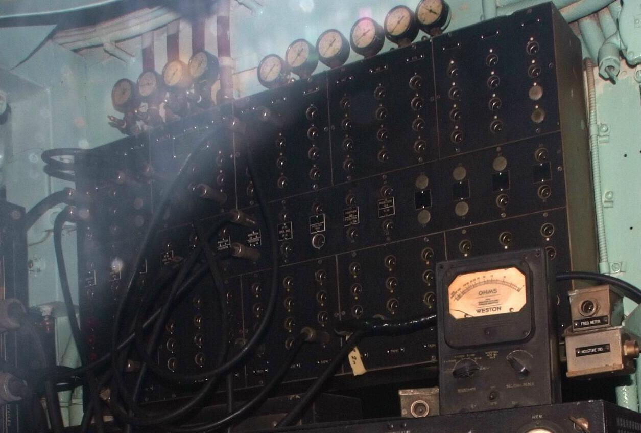 Navy Receiving Rf Patch Panels Switches Wiring Diagram Panel Synchron 23404 123758 Bytes