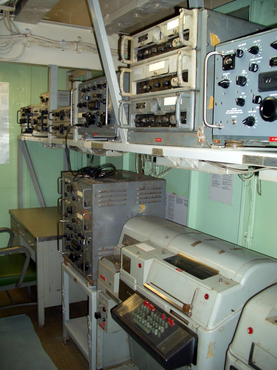 usn shipboard radio room photos