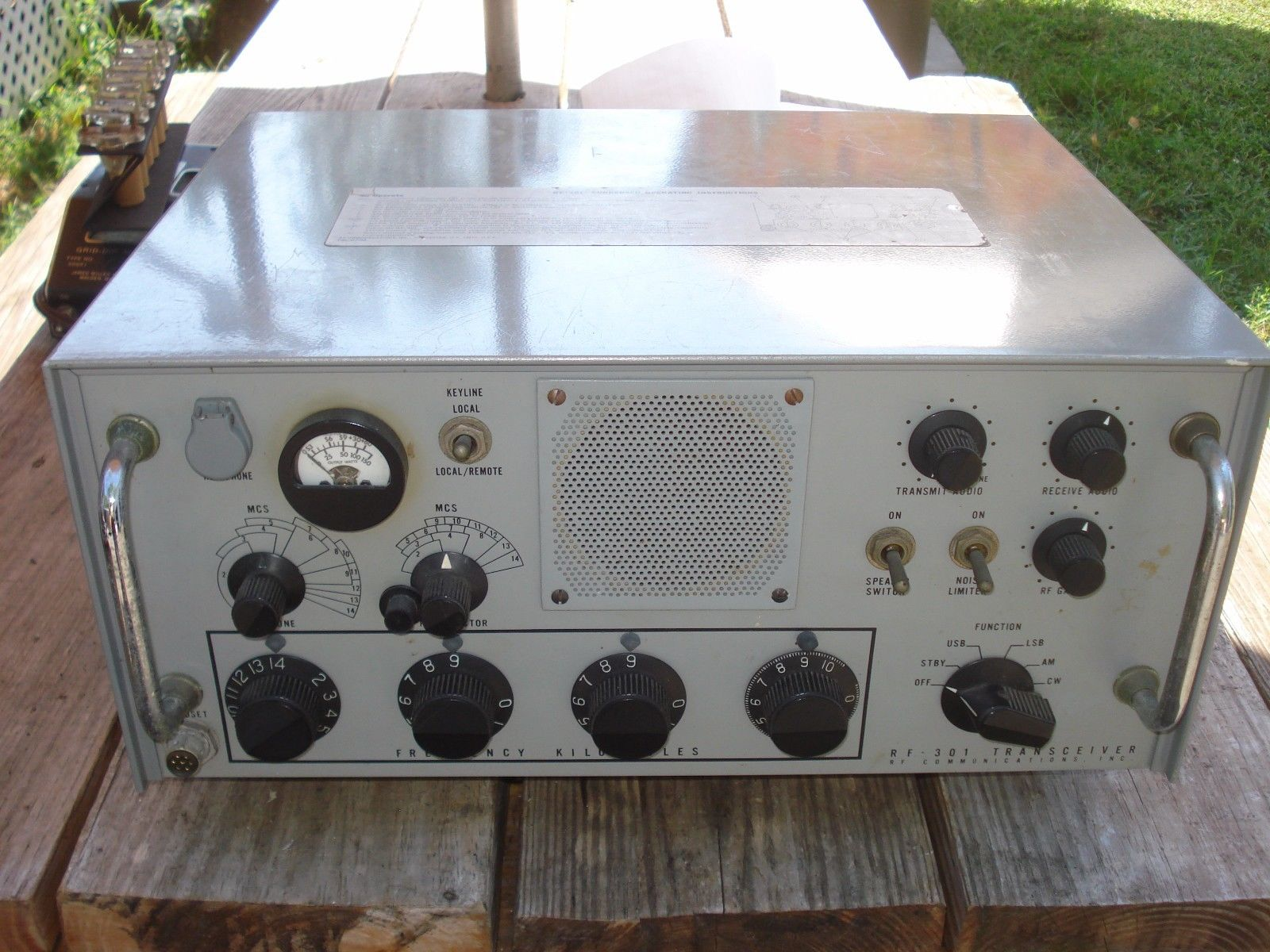 US Navy Shipboard HF Transceivers & Transmitter-Receivers